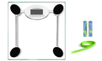 Groupon.com deals on Glass Digital Bathroom Scales
