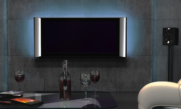 Retro illuminazione a led per tv groupon for Illuminazione al led