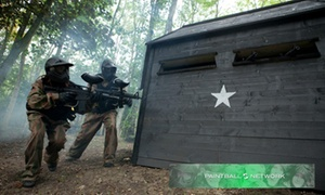 Paintball Networks: Paintball with 100 Balls and Light Lunch for Five, Ten or 15 at Paintball Networks, Multiple Locations (96% Off)