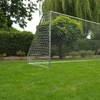 But de football acier de jardin