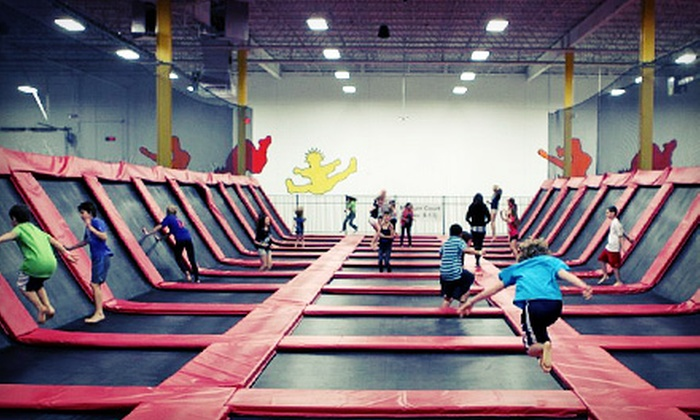 Xtreme Trampolines - Multiple Locations: Two Hours of Trampoline Sports and Play for Two or Four at Xtreme Trampolines (Up to 55% Off)