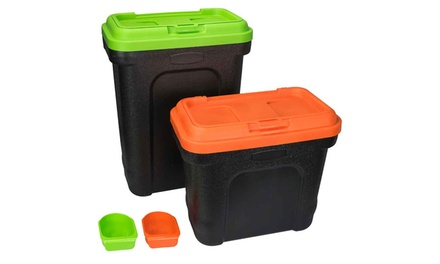 Pet Food Storage Container with Scoop from £9.98 (Up to 38% Off)