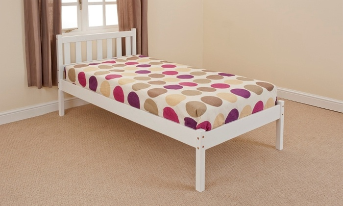 Norway Pine Bedframe with Optional Mattress (£70)
