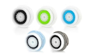 Facial Brush-Replacement Head Set (4- or 5-Pack)