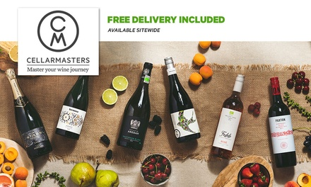 $5 for $30 Online Credit (Minimum Spend $99) at Cellarmasters + Free Delivery