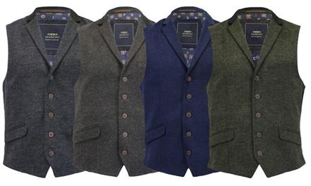 Mens Wool Mix Waistcoats