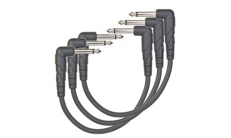 Pack de 3 cables de guitarra eléctrica AtoG Music