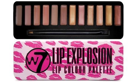 1 o 2 paletas de brillos labiales Lip Explosion W7 Cosmetic