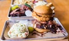 Honey Smoke Pit - Cultural District: BBQ and Drinks at Honey Smoke Pit (Up to 50% Off). Two Options Available.