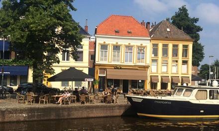 Groningen: onbeperkt brunchbuffet incl. prosecco bij Harbour Café