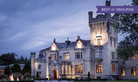5* Co. Donegal: 1 or 2 Nights for Two with Breakfast, Dinner, Castle Tour and Leisure Access at Solis Lough Eske Castle