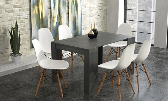 Console extensible groupon for Table extensible jusqu a 14 personnes