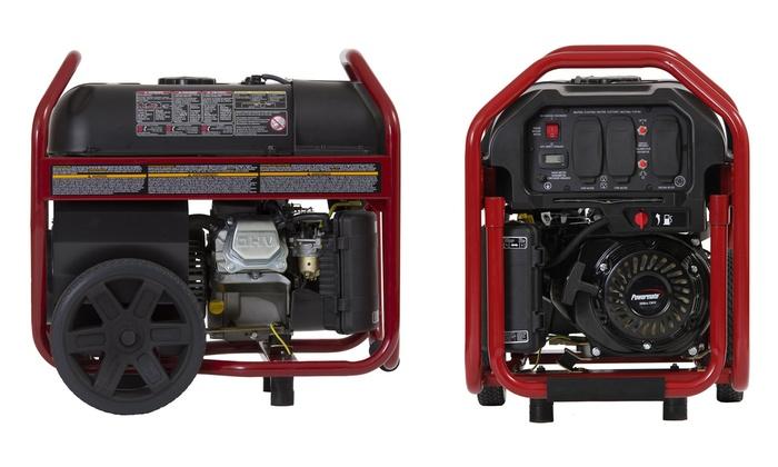 Powermate 3,250-Watt Gas-Powered Portable Generator