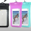 Gear Beast Universal Cell Phone Waterproof Dry Bag Case (2-Pack)