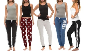 Coco Limon Women's Long Joggers and Tank Top Sets (10-Piece)