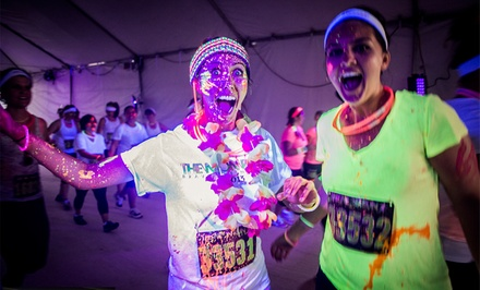 $29 to Enter The Neon Run 5K at Cloverdale Rodeo Grounds on Saturday, September 27 (Up to $60.48 Value)