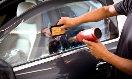 Window Tinting for a Car or an SUV with Lifetime Warranty at Jet Black Tint (Up to 64% Off)