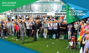 The Scottish Golf Show: Scottish Golf Show: Entry and Three Rounds of Golf for Up to Four at SECC Glasgow, 18-20 March