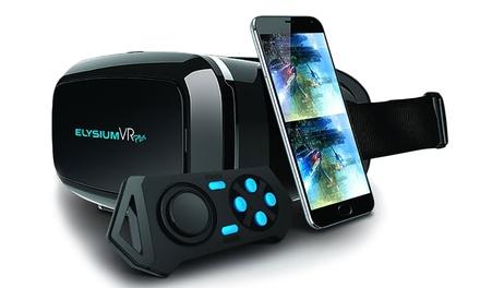 Gafas de realidad virtual con controlador Bluetooth Elysium VR Plus