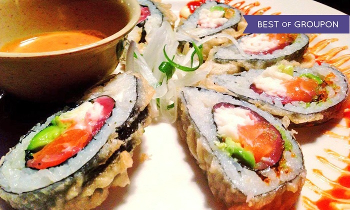 39 ohana sushi and hawaiian food ohana eastside groupon for Aloha asian cuisine