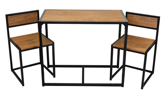 3 Pc pact Table and Chairs Set