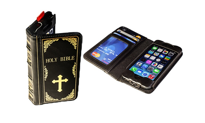 Academy of Commons: Bible iPhone 5 or 5SCase, or $19 for $40 Worth of Jewelry & Accessories from Academy of Commons