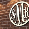 Monogrammed Metal Signs (Up to 60% Off)