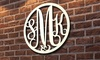 WallLetters.com: Monogrammed Metal Signs