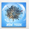 City Planet Prints on Gallery-Wrapped Canvas