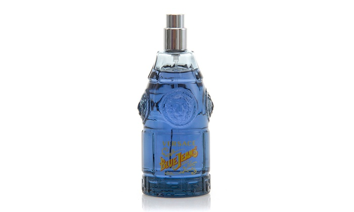 Versace Blue Jeans Man Eau de Toilette for Men; 2.5 fl. oz. (Unboxed)
