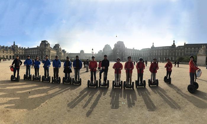 Go Go Tours - Paris: Jeu de piste en segway® de 2h pour 1, 2 ou 4 personnes dès 29 € avec Go Go Tours