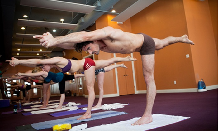 Bikram Yoga NYC - Multiple Locations: One or Three Months of Yoga Classes at Bikram Yoga NYC (Up to 70% Off)