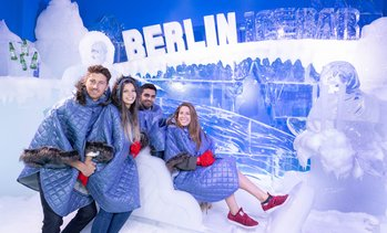 Ticket für die Ice Bar + 3 Drinks
