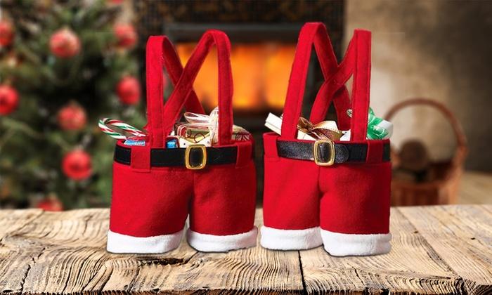 Elf Christmas Gift Bags.Up To 80 Off Christmas Themed Gift Bag Groupon
