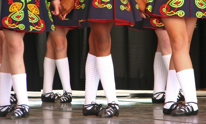 Rhythm of Ireland School of Irish Dance - Multiple Locations: One or Four Months of Beginners' Irish Dance Classes at Rhythm of Ireland School of Irish Dance (Up to 68% Off)