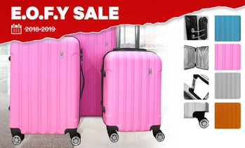 3-Piece Hard Shell Luggage Set