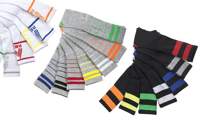 RBX Men's High Performance Crew Socks (7-Pack)