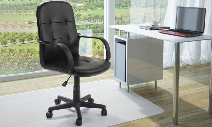 Fino a su sedia da ufficio girevole miadomodo groupon