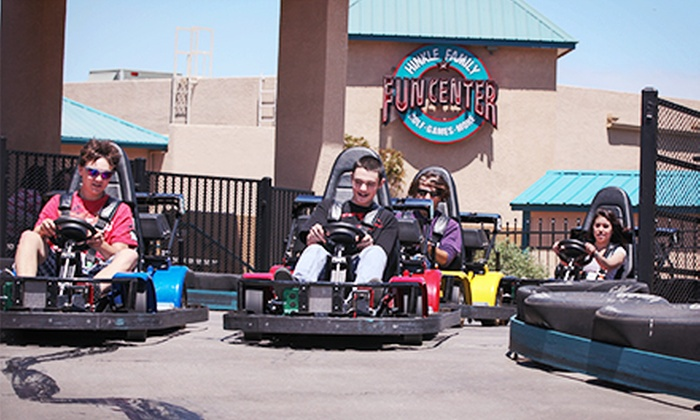 Hinkle Family Fun Center - Northeast Heights: $13 for a Full Day of Unlimited Play at Hinkle Family Fun Center ($26.95 Value)