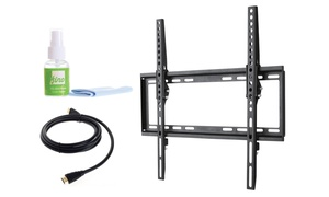 Fino TV-Mounting Kit with HDMI Cable and Screen Cleaner