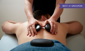 Classic Hair and Spa: 60- or 90-Minute Swedish or Deep-Tissue Massage with Optional Hot Stones at Classic Hair and Spa (Up to 42% Off)