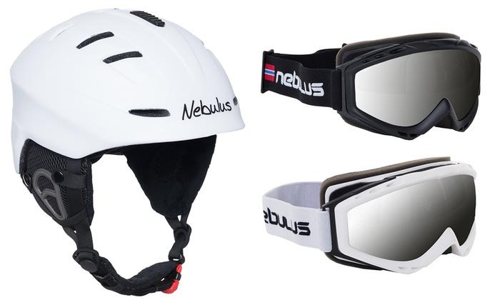 Groupon Goods Global GmbH: Nebulus Skibrille Seeforce oder Skihelm Secure oder Ski-Set (bis zu 60% sparen*)