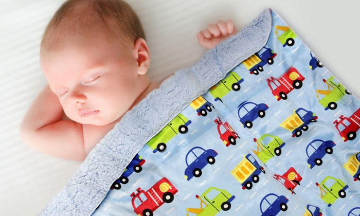 Groupon Goods Global GmbH: One (€8.99) or Two (€16.99) First Step Soft Baby Blankets