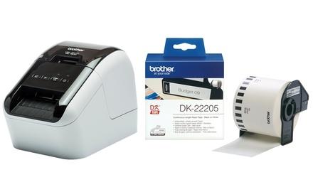 Stampante per etichette Brother QL 800 con o senza rotolo adesivo