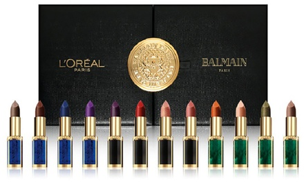 L'Oreal Balmain Lipstick Set With Free Delivery