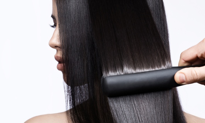 Melrose Hair Studio - Melrose: Haircut and Conditioning Treatment or Keratin Treatment at Melrose Hair Studio (Up to 50% Off)