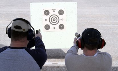 image for $35 for a <strong><strong>Shooting</strong>-Range</strong> Experience for Two at Clark County <strong>Shooting</strong> Complex ($51 Value)