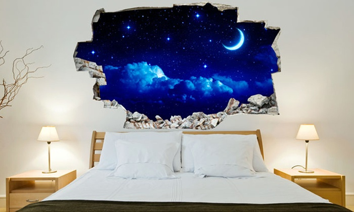 3d vinyl wall stickers | groupon