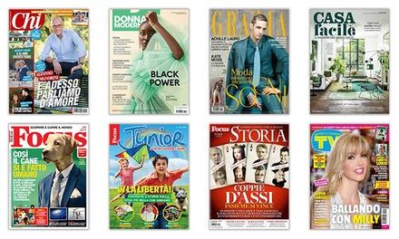 Abbonamenti digitali Mondadori a 4,90€euro