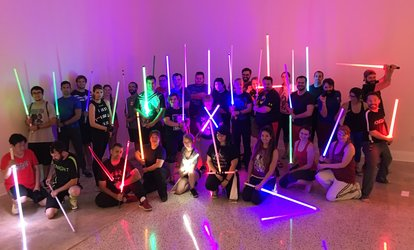 image for Fundamental LED Saber Classes at SaberCraft (Up to 64% Off)